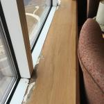 Damaged Windowsill