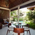 one bedrrom villa outdoor area