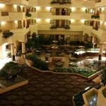 Dining Area from Third Floor at Embassy Suites Columbia - Greystone