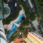 View from 25th floor, Hotel Pool