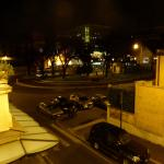 night time view
