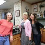 Innkeepers - Becky (center) & Ashley (right)