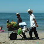 Lots of locals selling things on the beach, but they are not too much bother, always respectful.
