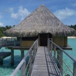Our Overwater Lagoon Bungalow (#37).