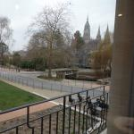 View of Bayeux Cathedral from room