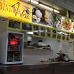 Underground food court for affordable food options