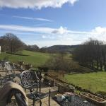 Outstanding view to sit and have a drink or afternoon tea