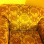 Hampton Inn Taos - Liked the Bison Patterned Upholstery
