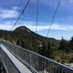 Suspension bridge, One mile high!