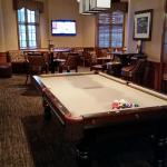 Pool table in pub