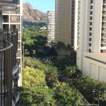 Beautiful view facing left from our 11th floor lanai.