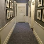 The hallway to our suite