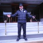 """This is Talip. The nicest doorman in the world! He loves his job. Please say """"HI"""""""