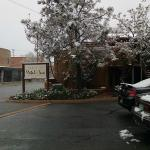 April Snow in Santa Fe