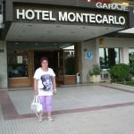 Photo de Hotel Montecarlo