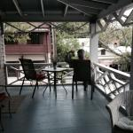 The veranda and morning coffee