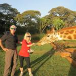 Nairobi Fun at Giraffe Manor