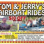 Airboat rides and alligator tours TAMPA