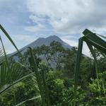 Arenal ( once all the clouds disappeared)