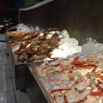 Lobster and crab legs for days at the Wednesday evening buffett