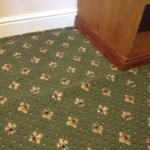 carpets needs to be relayed