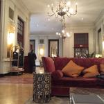 The lobby of the Bloomsbury Hotel