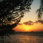Sunset at Water Cay