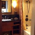 Bathrooms are clean with great amenities