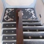 Stairs with mosaic decoration