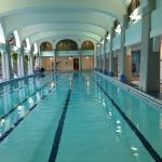 Indoor pool - Fairmont Banff Springs hotel