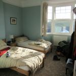 Twin room, rather messed up by us... :o)