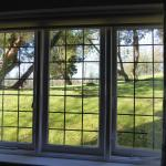 View through bedroom No 9's  window