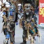 """""""Real Mayan Warriors on 5th Ave."""
