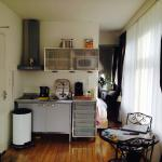 Clean and full working kitchen