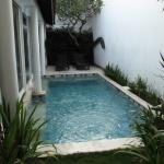 private pool in day time