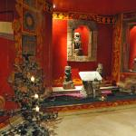 Exotic furnishings throughout the hote