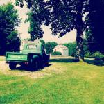 Old truck in the grounds.