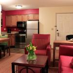 One-Bedroom Suite Kitchen (Stainless Steel Appliances)