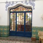 Doors to the communal area