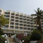 Exterior of the hotel