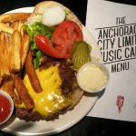 Cheeseburger from the Anchorage City Limits Cafe