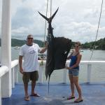 Sailfish 1st one I reeled in!