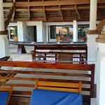 Near the pool - common area to relax or dine