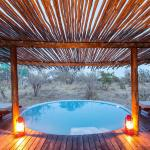 The swimming pool at Africa on Foot