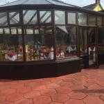 Conservatory for lunch