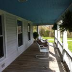 Front wrap around porch, good rain or shine!