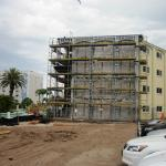April 20, 2015 - End of 7 days of construction at the Coral Reef