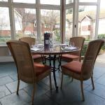 Lunch in the Conservatory