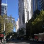 View from George Street of Kent St Meriton