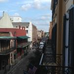 Looking down Bienville towards Royal